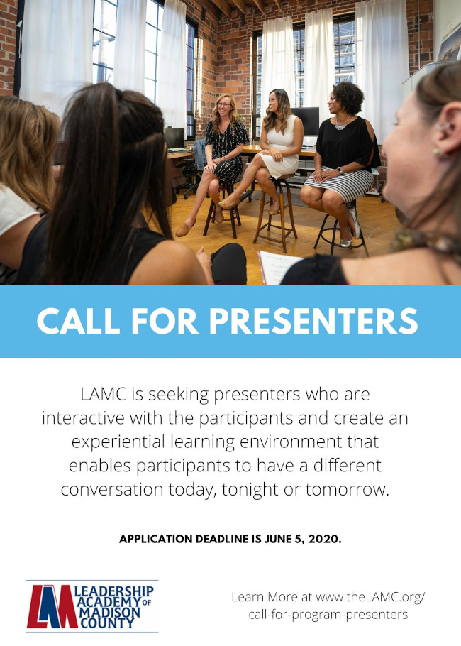 LAMC Call for Presenters 2020