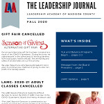 Leadership Journal Fall 2020