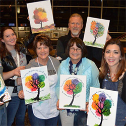 LAMC 2015 Brushes & Brews Alumni Event