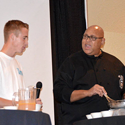 Youth Leadership Academy Celebration with Chef Kevin Belton